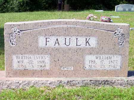 FAULK, WILLIAM - Columbia County, Arkansas | WILLIAM FAULK - Arkansas Gravestone Photos