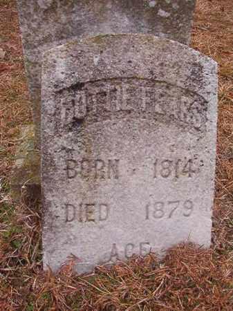 FEARS, LOTTIE - Columbia County, Arkansas | LOTTIE FEARS - Arkansas Gravestone Photos