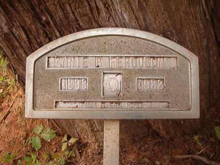 FERGUSON, ANNIE B - Columbia County, Arkansas   ANNIE B FERGUSON - Arkansas Gravestone Photos