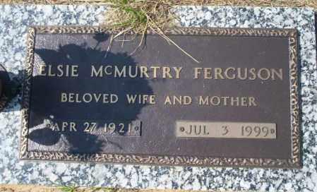 MCMURTRY FERGUSON, ELSIE - Columbia County, Arkansas | ELSIE MCMURTRY FERGUSON - Arkansas Gravestone Photos