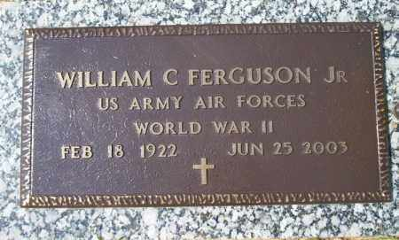 FERGUSON, JR (VETERAN WWII), WILLIAM C - Columbia County, Arkansas | WILLIAM C FERGUSON, JR (VETERAN WWII) - Arkansas Gravestone Photos