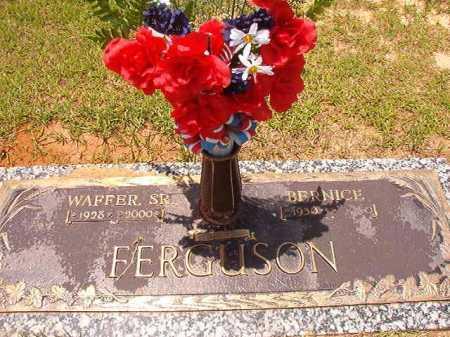 FERGUSON, SR, WAFFER - Columbia County, Arkansas | WAFFER FERGUSON, SR - Arkansas Gravestone Photos