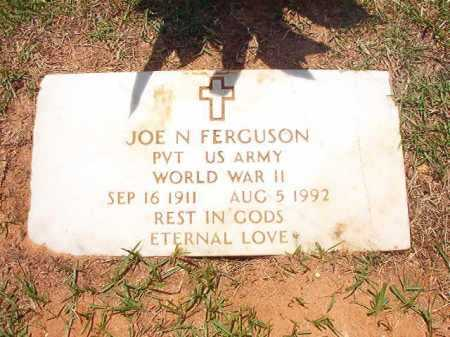 FERGUSON (VETERAN WWII), JOE N - Columbia County, Arkansas | JOE N FERGUSON (VETERAN WWII) - Arkansas Gravestone Photos