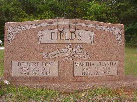 FIELDS, DELBERT FOY - Columbia County, Arkansas | DELBERT FOY FIELDS - Arkansas Gravestone Photos