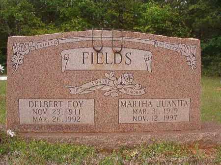 FIELDS, MARTHA JUANITA - Columbia County, Arkansas | MARTHA JUANITA FIELDS - Arkansas Gravestone Photos