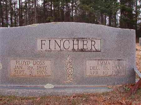FINCHER, FLOYD DOSS - Columbia County, Arkansas | FLOYD DOSS FINCHER - Arkansas Gravestone Photos