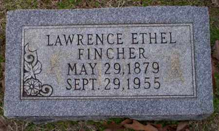 FINCHER, LAWRENCE ETHEL - Columbia County, Arkansas | LAWRENCE ETHEL FINCHER - Arkansas Gravestone Photos