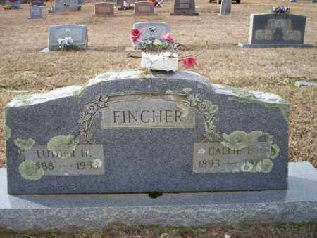 FINCHER, LUTHER H - Columbia County, Arkansas | LUTHER H FINCHER - Arkansas Gravestone Photos