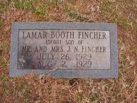 FINCHER, LAMAR BOOTH - Columbia County, Arkansas | LAMAR BOOTH FINCHER - Arkansas Gravestone Photos