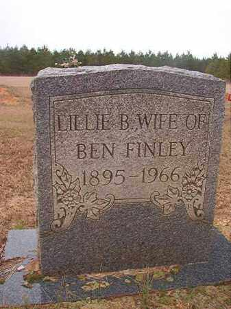 FINLEY, LILLIE B - Columbia County, Arkansas | LILLIE B FINLEY - Arkansas Gravestone Photos