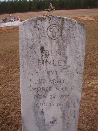 FINLEY (VETERAN WWI), BEN - Columbia County, Arkansas | BEN FINLEY (VETERAN WWI) - Arkansas Gravestone Photos