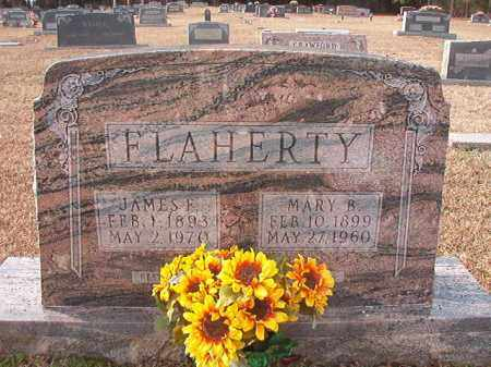 FLAHERTY, MARY B - Columbia County, Arkansas | MARY B FLAHERTY - Arkansas Gravestone Photos