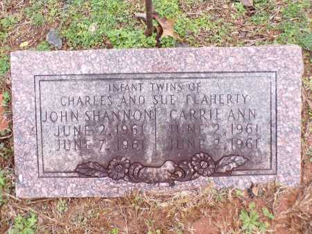 FLAHERTY, JOHN SHANNON - Columbia County, Arkansas | JOHN SHANNON FLAHERTY - Arkansas Gravestone Photos