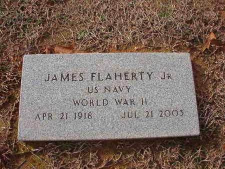 FLAHERTY, JR (VETERAN WWII), JAMES - Columbia County, Arkansas | JAMES FLAHERTY, JR (VETERAN WWII) - Arkansas Gravestone Photos