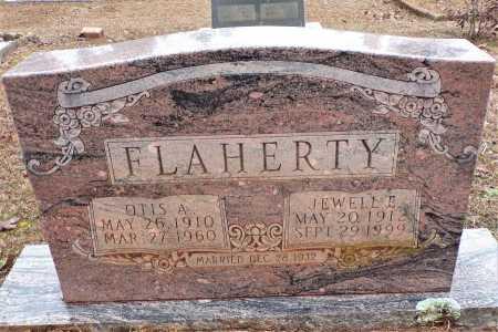 FLAHERTY, JEWELL E - Columbia County, Arkansas | JEWELL E FLAHERTY - Arkansas Gravestone Photos