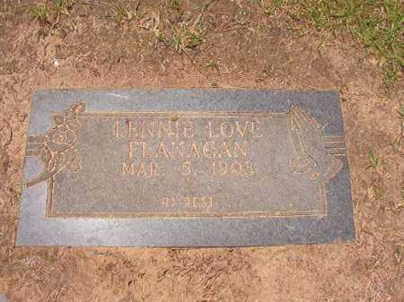 FLANAGAN, LENNIE LOVE - Columbia County, Arkansas | LENNIE LOVE FLANAGAN - Arkansas Gravestone Photos
