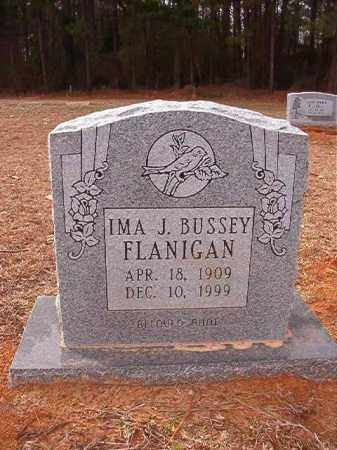 BUSSEY FLANIGAN, IMA J - Columbia County, Arkansas | IMA J BUSSEY FLANIGAN - Arkansas Gravestone Photos