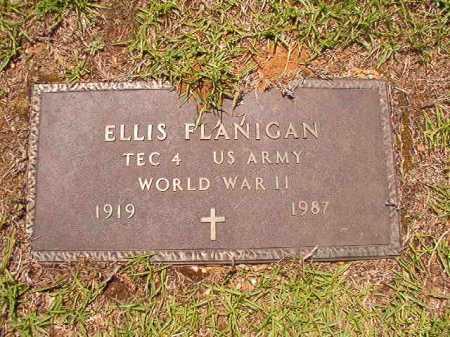 FLANIGAN (VETERAN WWII), ELLIS - Columbia County, Arkansas | ELLIS FLANIGAN (VETERAN WWII) - Arkansas Gravestone Photos