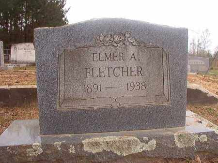 FLETCHER, ELMER A - Columbia County, Arkansas | ELMER A FLETCHER - Arkansas Gravestone Photos