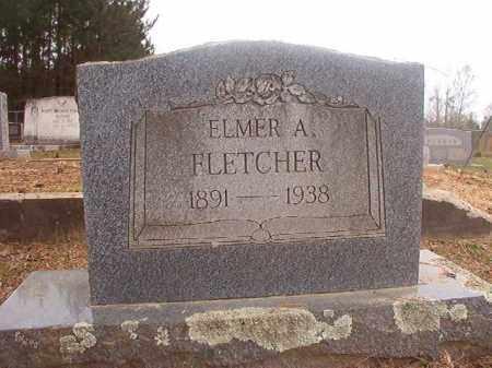 FLETCHER, ELMER A - Columbia County, Arkansas | ELMER A FLETCHER - Arkansas Gravestone Photos