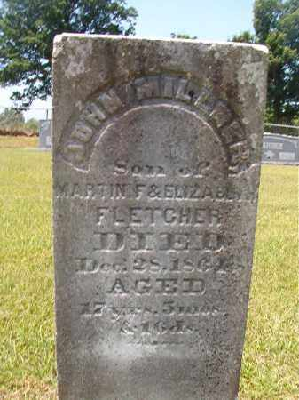 FLETCHER, JOHN MILLNER - Columbia County, Arkansas | JOHN MILLNER FLETCHER - Arkansas Gravestone Photos
