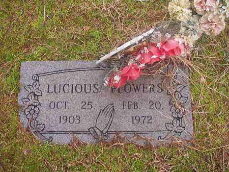 FLOWERS, LUCIOUS - Columbia County, Arkansas | LUCIOUS FLOWERS - Arkansas Gravestone Photos