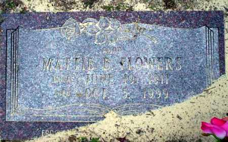 FLOWERS, MATTIE B - Columbia County, Arkansas | MATTIE B FLOWERS - Arkansas Gravestone Photos