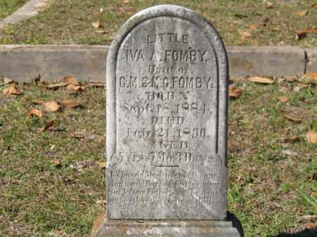 FOMBY, IVA A - Columbia County, Arkansas | IVA A FOMBY - Arkansas Gravestone Photos