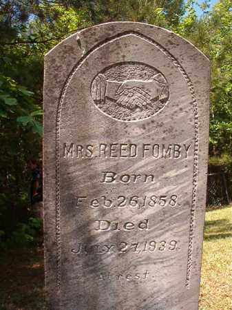 FOMBY, REED - Columbia County, Arkansas | REED FOMBY - Arkansas Gravestone Photos