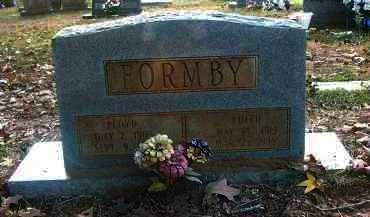 FORMBY, FLOYD - Columbia County, Arkansas | FLOYD FORMBY - Arkansas Gravestone Photos