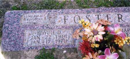 FOSTER, BOYDIE D. - Columbia County, Arkansas | BOYDIE D. FOSTER - Arkansas Gravestone Photos