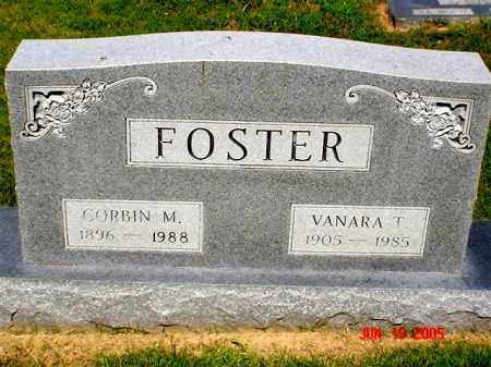 FOSTER, CORBIN M. - Columbia County, Arkansas | CORBIN M. FOSTER - Arkansas Gravestone Photos
