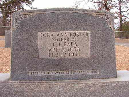 FOSTER, DORA ANN - Columbia County, Arkansas | DORA ANN FOSTER - Arkansas Gravestone Photos
