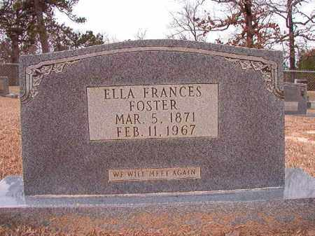 FOSTER, ELLA FRANCES - Columbia County, Arkansas | ELLA FRANCES FOSTER - Arkansas Gravestone Photos