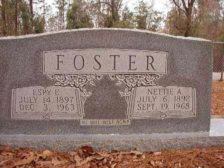 FOSTER, NETTIE A - Columbia County, Arkansas | NETTIE A FOSTER - Arkansas Gravestone Photos