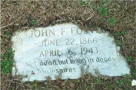FOSTER, JOHN F. - Columbia County, Arkansas | JOHN F. FOSTER - Arkansas Gravestone Photos