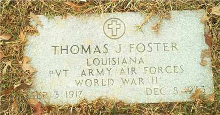 FOSTER (VETERAN WWII), THOMAS J - Columbia County, Arkansas | THOMAS J FOSTER (VETERAN WWII) - Arkansas Gravestone Photos