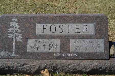 FOSTER, JENNIE BELLE - Columbia County, Arkansas | JENNIE BELLE FOSTER - Arkansas Gravestone Photos
