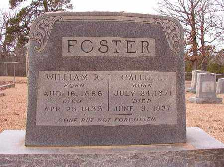 FOSTER, WILLIAM R - Columbia County, Arkansas | WILLIAM R FOSTER - Arkansas Gravestone Photos