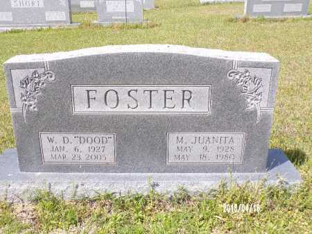 FOSTER, M JUANITA - Columbia County, Arkansas | M JUANITA FOSTER - Arkansas Gravestone Photos