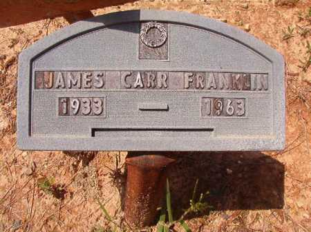 FRANKLIN, JAMES CARR - Columbia County, Arkansas | JAMES CARR FRANKLIN - Arkansas Gravestone Photos