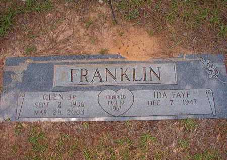 FRANKLIN, JR, GLEN - Columbia County, Arkansas | GLEN FRANKLIN, JR - Arkansas Gravestone Photos