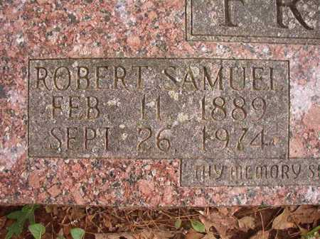 FRANKLIN, ROBERT SAMUEL - Columbia County, Arkansas | ROBERT SAMUEL FRANKLIN - Arkansas Gravestone Photos