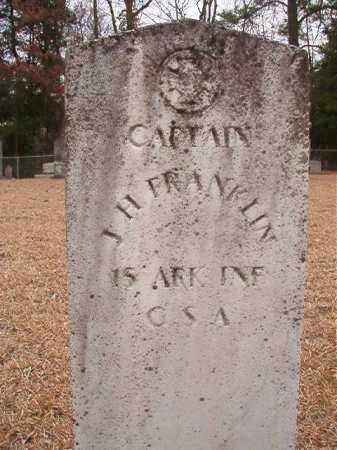 FRANKLIN (VETERAN CSA), J H - Columbia County, Arkansas | J H FRANKLIN (VETERAN CSA) - Arkansas Gravestone Photos
