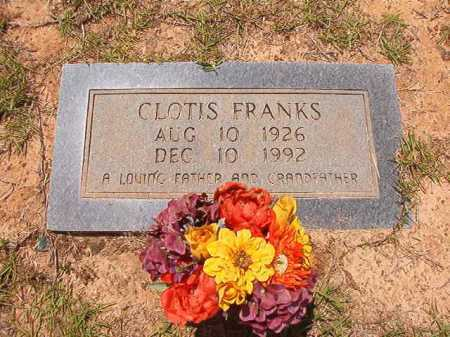 FRANKS, CLOTIS - Columbia County, Arkansas | CLOTIS FRANKS - Arkansas Gravestone Photos