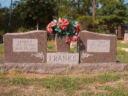 FRANKS, ERNEST F - Columbia County, Arkansas | ERNEST F FRANKS - Arkansas Gravestone Photos