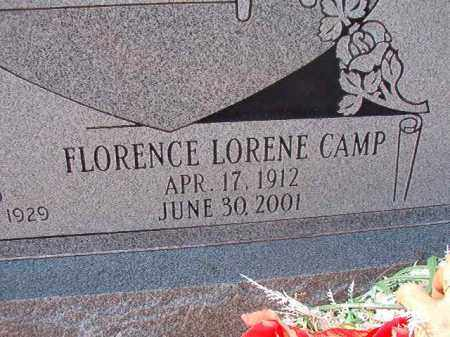 FRANKS, FLORENCE LORENE - Columbia County, Arkansas | FLORENCE LORENE FRANKS - Arkansas Gravestone Photos