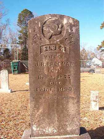 FREEMAN, ELBER - Columbia County, Arkansas | ELBER FREEMAN - Arkansas Gravestone Photos