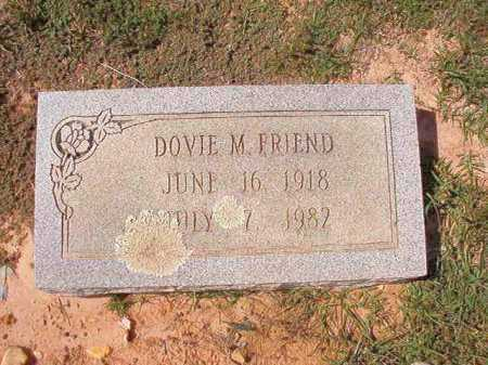FRIEND, DOVIE M - Columbia County, Arkansas | DOVIE M FRIEND - Arkansas Gravestone Photos