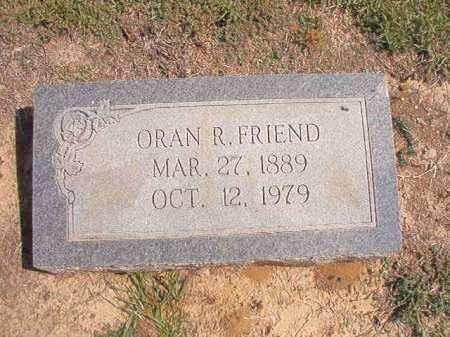 FRIENDS, ORAN R - Columbia County, Arkansas | ORAN R FRIENDS - Arkansas Gravestone Photos